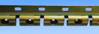 Rail de suspension acier pour lanière Transclair