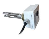 Résistance 1000 watts boîtier blanc L.160 mm