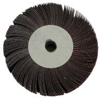 Grinding wheel with strips