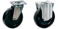 Roulette inox à platine haute température