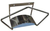 Support tuyau inox modèle medium