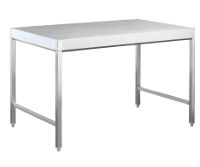 Eco stainless steel preparation table