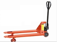 Lacquered steel pallet truck