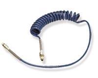 Tuyau spiralé bleu